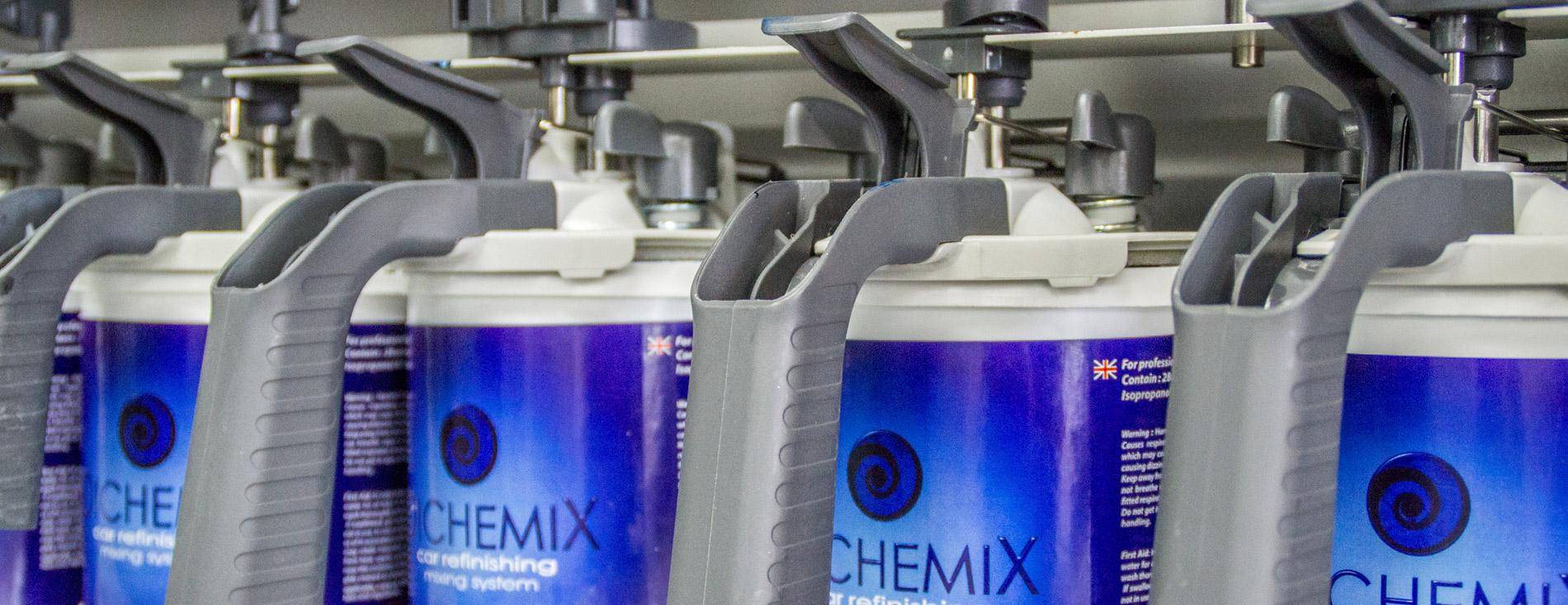 Dichemix - система подбора автокраски