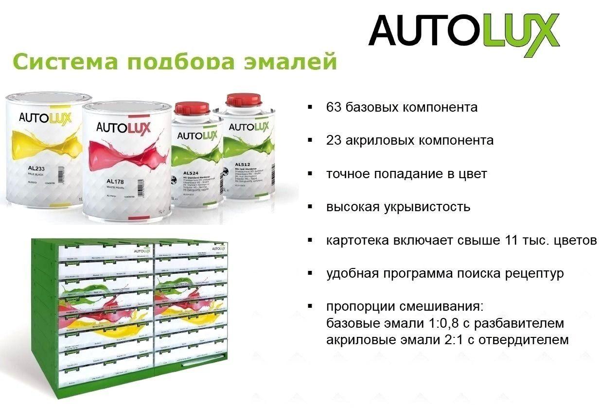 Система подбора красок AUTOLUX