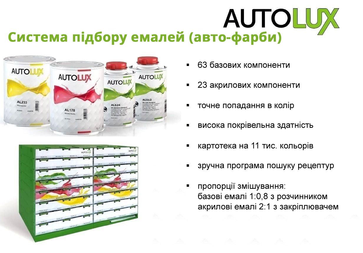 Система підбору фарб AUTOLUX PPG